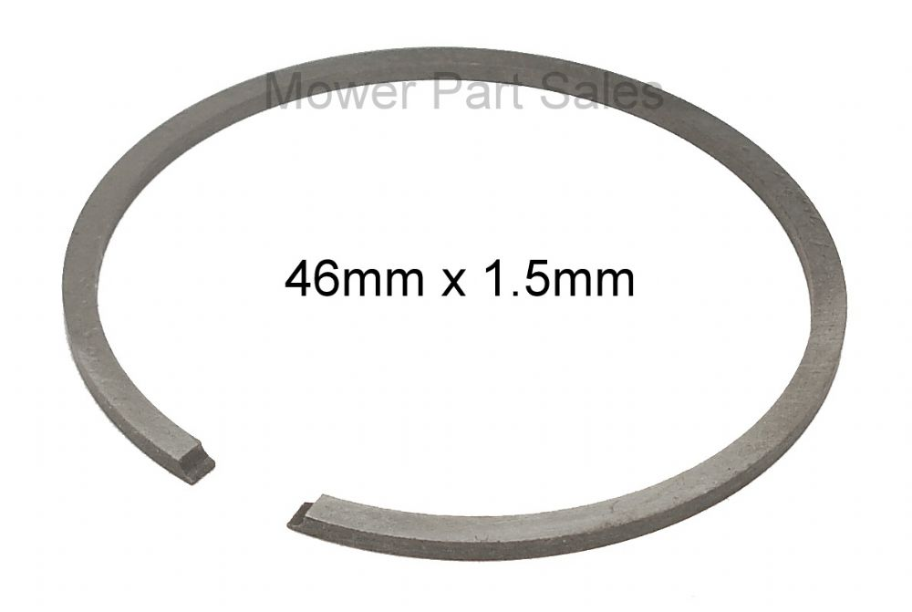Piston Ring 46mm x 1.5mm Fits Husqvarna 357 xp, 357 xpg, 257, 55, Jonsered CS2156, Chainsaw and Strimmer, Replaces 503289014